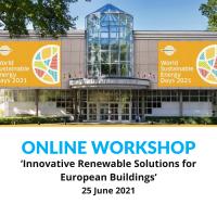 Online workshop | Innovative Renewable Solutions for European Buildings